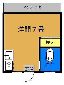 琉大東荘間取り図