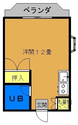 メゾン K≪角部屋≫間取り図