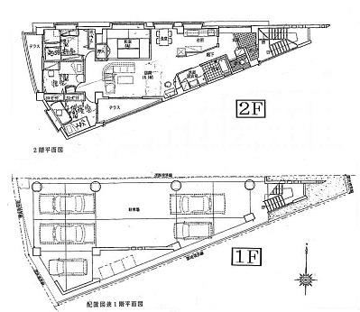 中古住宅 宜野湾市野嵩間取り図