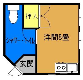 森川アパート間取り図