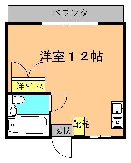 ハッピーライフINN (4F以上)間取り図