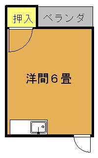 弥生荘間取り図