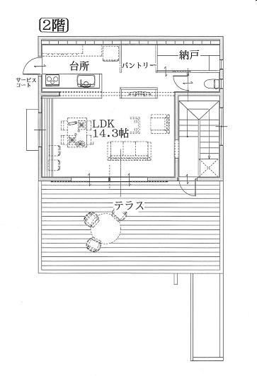 建売住宅 中城村登又・新垣サンヒルズタウン・テラスハウス参考画像3