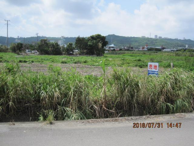 売土地(農地) 中城村南浜 668.5坪