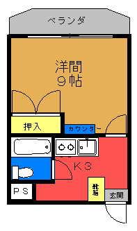 マンションロアール 間取り図