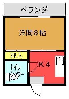 丸弘アパート間取り図