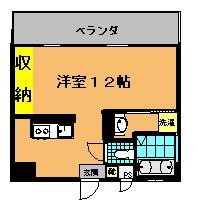 プレジャーリンクス (1・5号室)間取り図