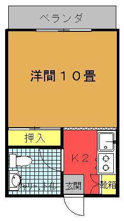 レジデンス松田間取り図