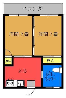 富浜共同住宅間取り図